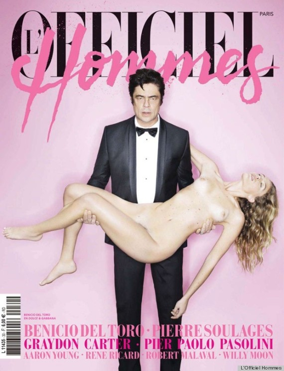 Naked magazine cover