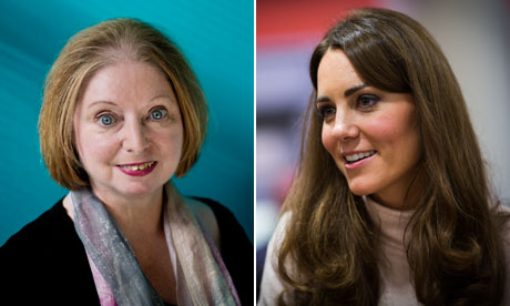 Hilary Mantel and Catherine, Duchess of Cambridge