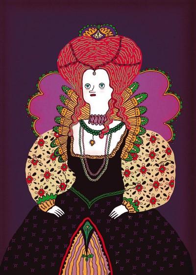Queen Elizabeth by Ana Galvan