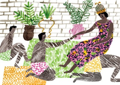 Queen Njinga Mbande by Charlotte Trounce