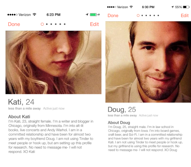 Man sets up fake hookup profile