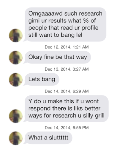 Hookup guy still has online profile
