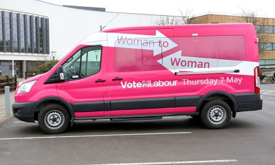Labour, Woman to Woman bus
